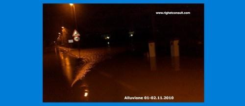 Alluvione del 2010 in Veneto. Questo e' il volto di una vera emergenza. La sicurezza idraulica non si puo' improvvisare, servono degli specialisti