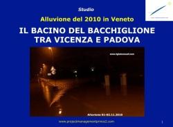 Analisi dell' Alluvione del 2010- Bacino del fiume Bacchiglione