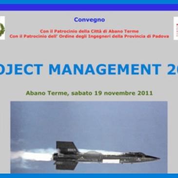 Convegno project management 2011
