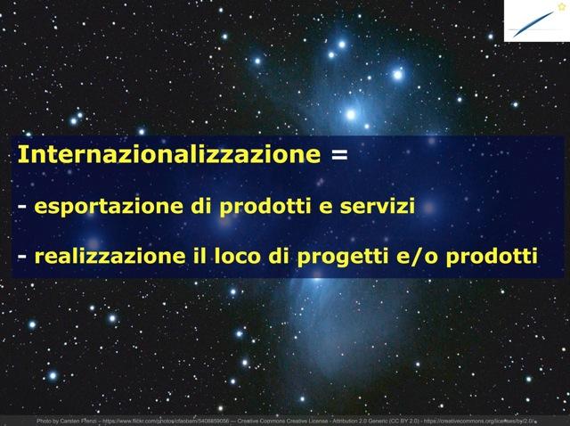 Strategia di internazionalizzazione delle aziende Italiane