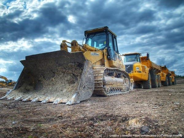 Cantiere edile all'estero per opere ed infrastruttre