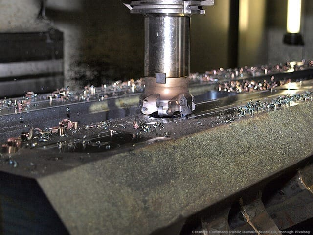 Una macchina utensile per la fresatura. Contrariamente a quanto pensano molti, non si ottiene l'iper-ammortamento solo grazie a qualche software
