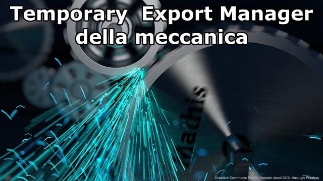 """Per le aziende della meccanica, ha fatto molto di piu' l'iper-ammortamento che tutti i vari programmi di internazionalizzazione basati sui voucher ed i Temporary Export Manager """"formato"""" burocrazia italiana"""